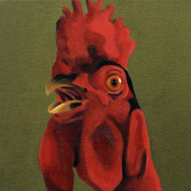 Max Berry - Rooster l, 31x31