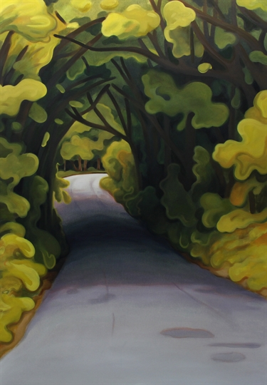 Max Berry - Tree Tunnel, 92x132